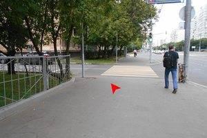 На лево, 3-й Хорошевский проезд.