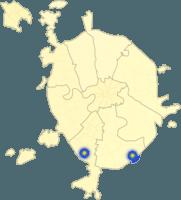 Ремонтный городок на карте Москвы